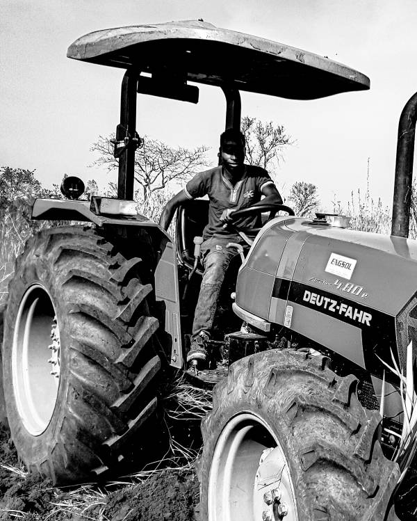 Agrotourism - Drive a tractor