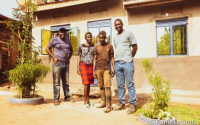 Empowering the youth – The Story of Gaayi Derrick at Farm Uganda